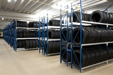 lagereinrichtungen - Reifenregal